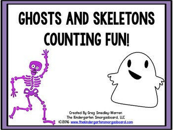 Skeletons and Ghosts Numbers and Counting Fun!