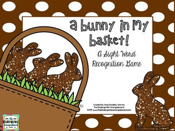 Easter Bunny Sight Words