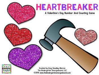 Heartbreaker: Valentine's Day Numbers and Counting to 30!