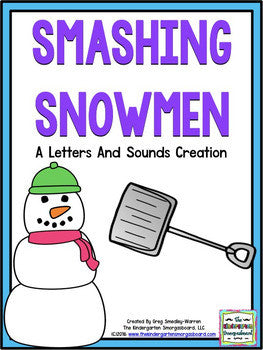 Smashing Snowmen! Letters and Sounds