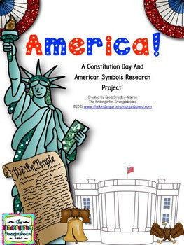 Constitution Day/American Symbols: A Research and Writing Project PLUS Centers!