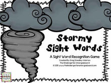 Weather Sight Words!