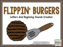 Letters And Sounds: Flippin' Burgers!