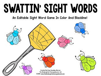 Swattin' Sight Words!
