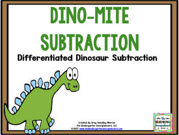 Dino-mite Dinosaur Subtraction