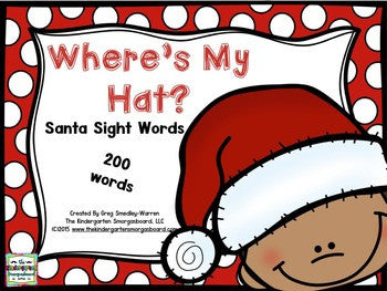 Santa Sight Words Game!