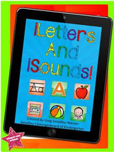 iLetters and iSounds: A Letters and Sounds Creation