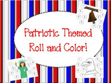 Patriotic Themed Roll and Cover