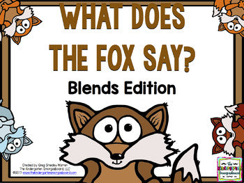 What Does the Fox Say? A Blends Creation