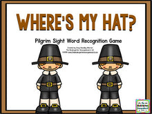 Pilgrim Sight Words Game