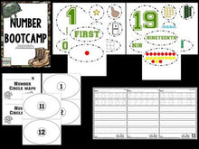 Number Bootcamp: Numbers and Counting 1-20 (Army Theme)