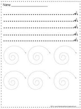 Cutting and Tracing Lines: A Blackline Back-to-School FREEBIE!