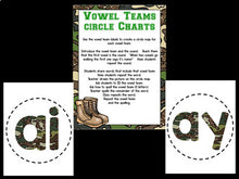 Vowel Teams Bootcamp Army Theme