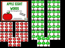 Apple Sight Words Game