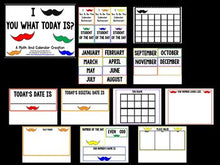 Calendar! I Mustache You What The Date Is? An Interactive Calendar Creation