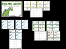 Dinosaurs and Unicorns: Addition and Subtraction BUNDLE!