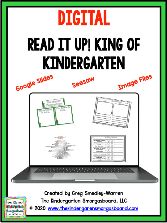 DIGITAL Read It Up! King Of Kindergarten