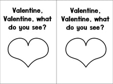 Valentine, Valentine What Do You See? Emergent Reader