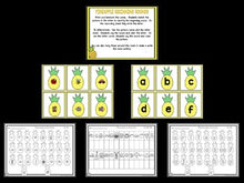 Pineapple Math and Literacy Centers