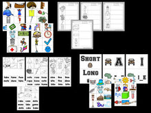 Vowel Bootcamp: Short and Long Vowels (Safari Theme)