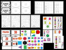 Shapes Bootcamp: A 2D and 3D Shapes Unit (Monster Theme)