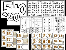 Number Bootcamp: Numbers and Counting 1-20 (Safari Theme)