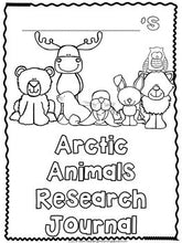 Arctic Animals: A Research and Writing Project PLUS Centers!