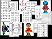 Number Bootcamp Superhero Theme: Numbers And Counting 1-20