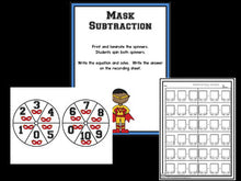Subtraction Bootcamp: Subtracting to 10 (Superhero Theme)