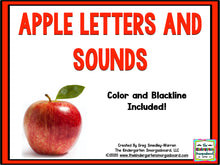 Apple Letters & Sounds