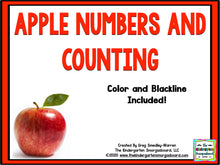 Apple Numbers & Counting