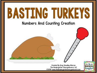 Basting Turkeys! A Numbers & Counting Creation