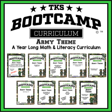 TKS Bootcamp Bundle! Army Theme