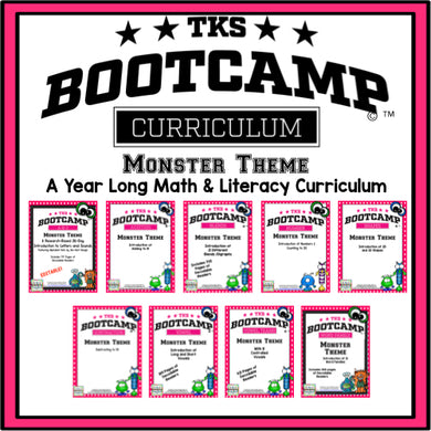 TKS Bootcamp BUNDLE! (Monster Theme)