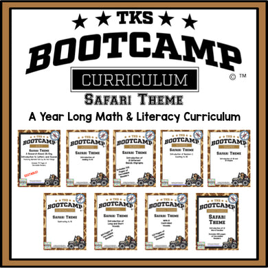 TKS Bootcamp Bundle! Safari Edition
