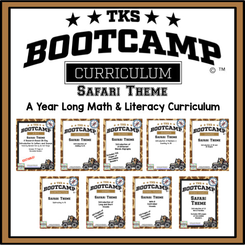 TKS Bootcamp BUNDLE! (Safari Theme)