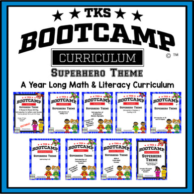 TKS Bootcamp Bundle! Superhero Theme