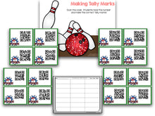 Bowling QR Codes For Math And Literacy!