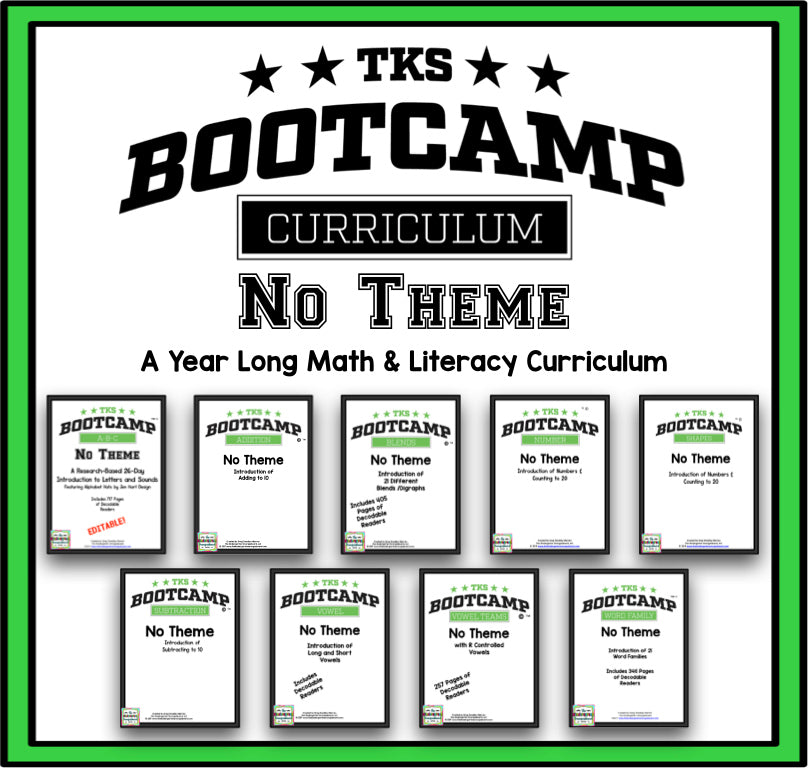 TKS Bootcamp BUNDLE! (No Theme)