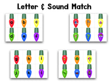 Christmas Lights Letters and Sounds