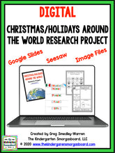 DIGITAL Christmas and Holidays Around the World: Research & Writing Project