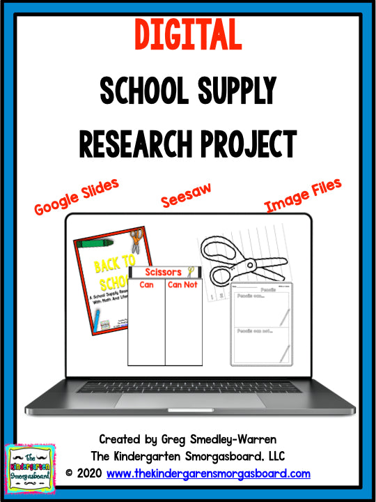 Digital School Supply Research Project
