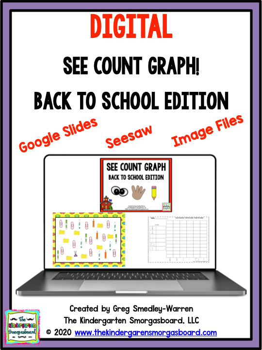 Digital See Count Graph - Back To School Edition