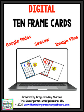 Digital Ten Frame Cards