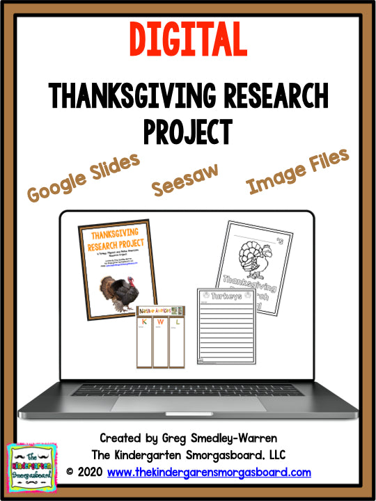 Digital Thanksgiving Research Project