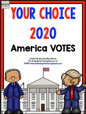 ELECTION Your Choice: Kindergarten Votes 2020