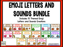 Emoji Letters and Sounds Bundle