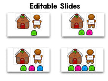 Gingerbread Editable Sight Words
