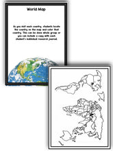 Christmas And Holidays Around the World: An Editable  Research and Writing Project PLUS Centers!