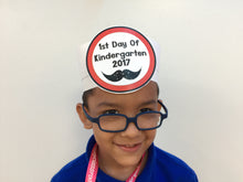 First Day of School Hats for Pre-K, K and 1!